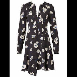 Derek Lam 10 Crosby Black Long Sleeve Sheath Dress